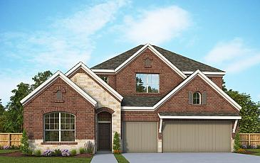 David Weekley Homes Gossett Floor Plan Picture 1