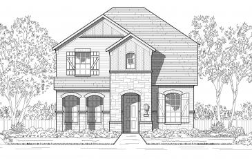 Highland Homes Plan 305 Floor Plan Picture 1
