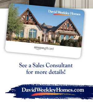 David Weekley Amazon Gift Card