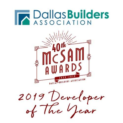 2019 Developer of the Year - McSam Awards