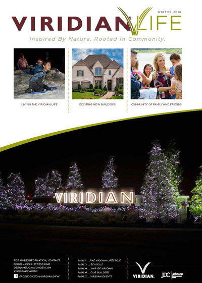 Viridian Life Winter 2016