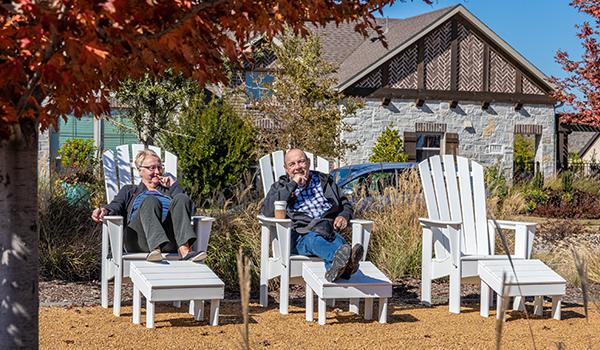 Residents enjoy outdoor amenities in Viridian DFW
